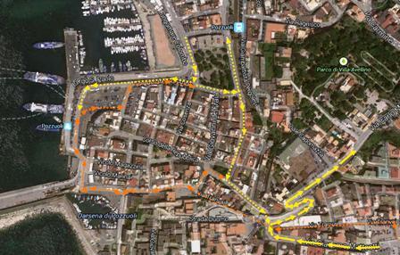 Pozzuoli, da lunedì cambia totalmente la circolazione al centro storico