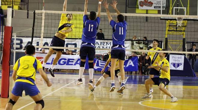 Pozzuoli Volley: missione compiuta! Riscatto di Coppa contro il Baiano battuto 3-2 dopo una vera battaglia