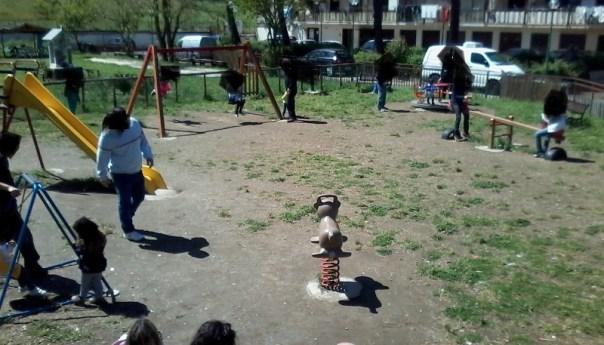 Monteruscello, parco giochi autofinanziato