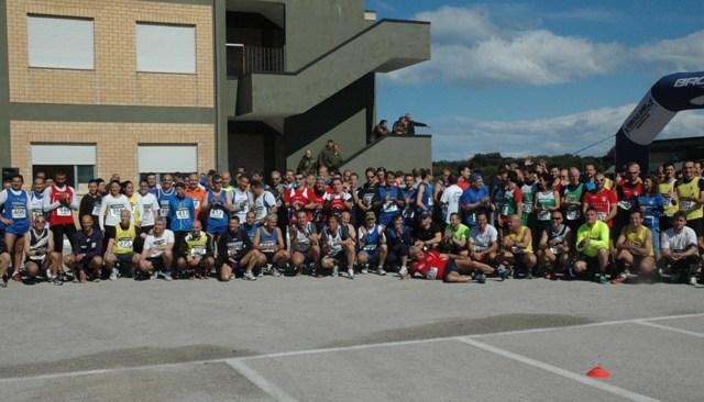 Atleti dei corpi militari in gara per la salute al San Paolo di Fuorigrotta