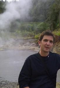 L'ingegnere del CNR Angelo Fontana