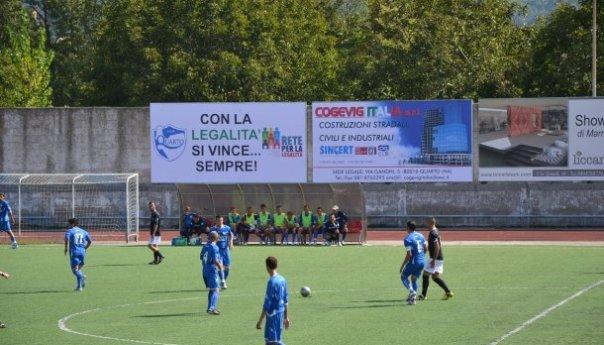 Quarto Calcio, occasione sprecata. Avanti di due goal si fa rimontare dal bomber Pascucci del San Giorgio!