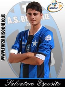 Esposito del Bisceglie, ex Montreruscello Calcio e Quarto (Foto Forzabisceglie.it)