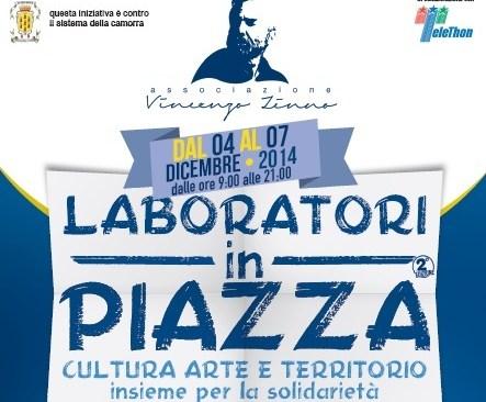 Laboratori in Piazza, adulti e ragazzi a contatto con nuove e vecchie professioni o abitudini