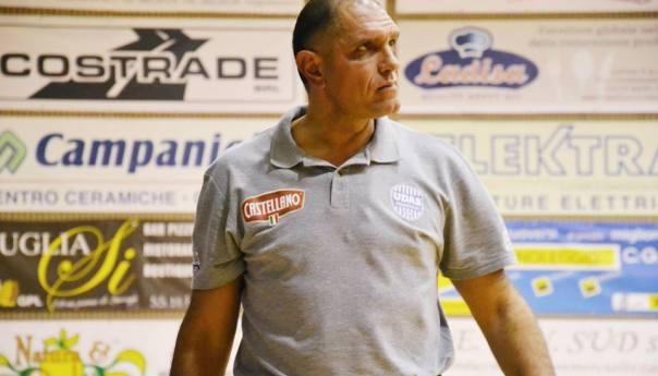 """Matteo Totaro, tecnico del Cerignola, domenica torna da ex al Pala Errico: """"Conservo ricordi bellissimi del Puteoli Basket""""!"""