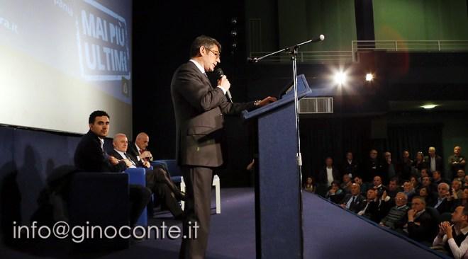 Enzo De Luca alla convention elettorale di Elio Buono…via Massimo Paolucci