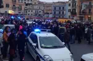 Pozzuoli, disordini a via Napoli