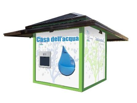 Casa dell'Acqua, per Pozzuoli più acqua pura e meno plastica