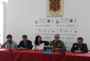 Conferenza stampa - P. Lubrano, V. Grassi, T. Vanorio, A. Artiaco, e D. Lanzo