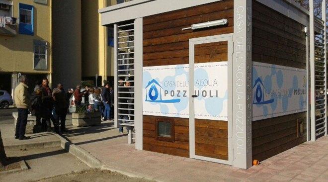 POZZUOLI/ Da domani attive due nuove case dell'acqua, una ai Pisciarelli e l'altra a via Napoli