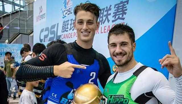 I bacolesi Massa ed Ingenito trionfano alla Super League di canoa polo in Cina