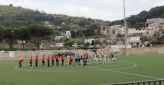 Flegrea Calcio sciupona il Barano s'impone per 2-0