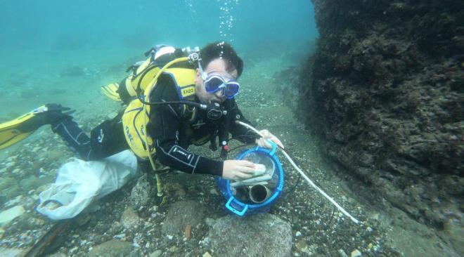 Pozzuoli, ripuliti i fondali marini con i sub e i fondi dell'ex Provincia|Gallery