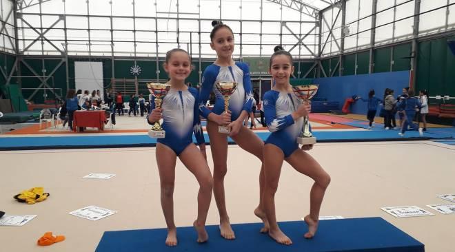 GINNASTICA/ La Gymnastix Training Center di Licola trionfa ai campionati regionali