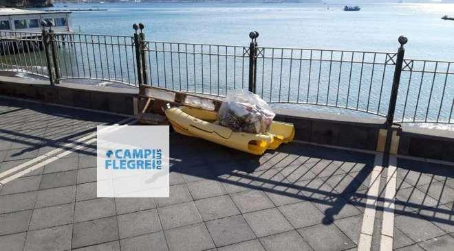 BACOLI/ Escalation di sversamenti illeciti di rifiuti lungo le strade della città|FOTO