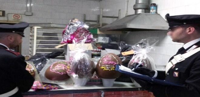 POZZUOLI/ Sequestrate 141 uova di cioccolato dai Nas in due pasticcerie