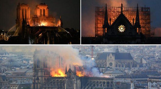 """Notre Dame, coppia di Bacoli nella cattedrale al momento dell'incendio: """"Pensavamo fosse un attentato"""""""