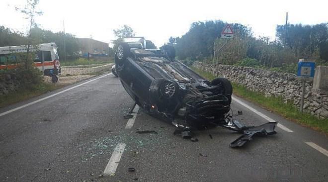 ULTIMORA/ Pauroso incidente a Lago Patria, auto si ribalta: illesi gli occupanti
