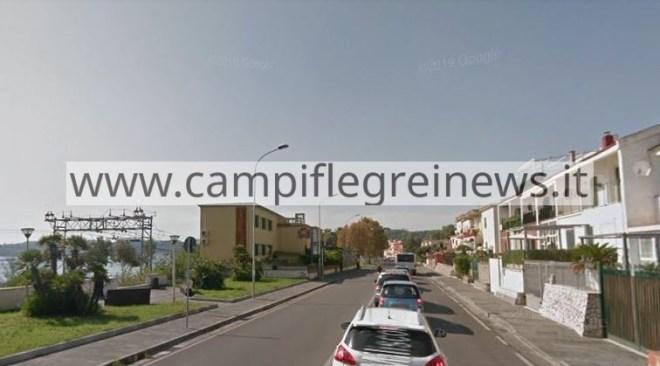 POZZUOLI/ Nuove strisce blu a Lucrino in via Miliscola e in via Campi Flegrei