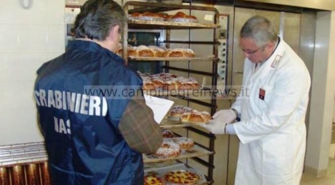 MONTERUSCIELLO/ Nas sequestrano 20 kg di dolci privi di tracciabilità in via Allodi