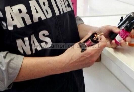 Nas chiudono uno studio di tatuaggi nell'area flegrea per gravi carenze sanitarie