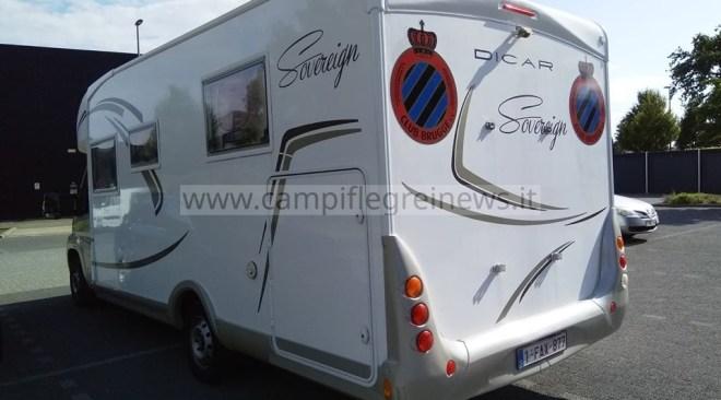 ULTIMORA/ Camper di turista belga rubato a Pozzuoli in via Terracciano
