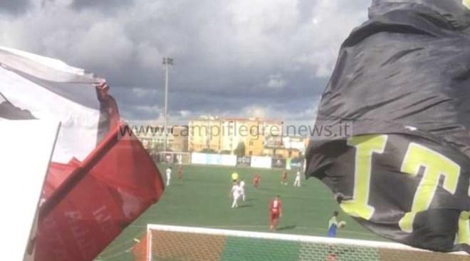 CALCIO/ Palumbo-gol, è festa granata a San Giorgio: sesta vittoria consecutiva per i diavoli rossi - LE FOTO