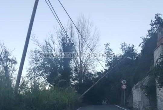 POZZUOLI/ Resta chiusa via Arco Felice Vecchio, alberi e pali pericolanti: lunedì il sopralluogo