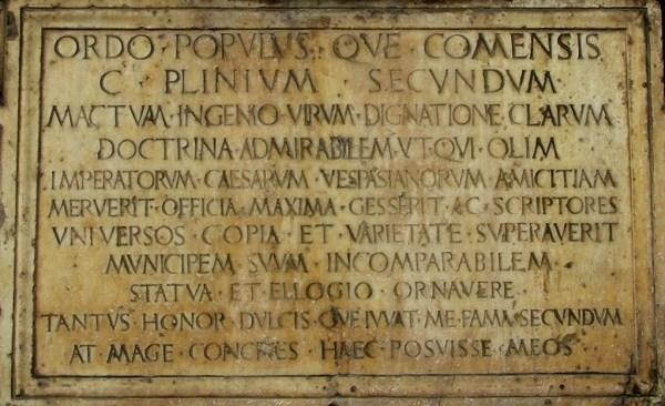 Eruzione del Vesuvio, un libro dedicato al racconto di Plinio il Vecchio