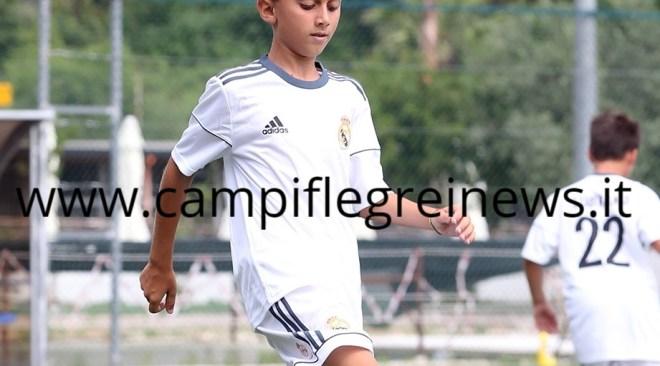 """Sogno Real Madrid per il baby puteolano Fiorellino, scelto dai tecnici dei """"galacticos"""""""