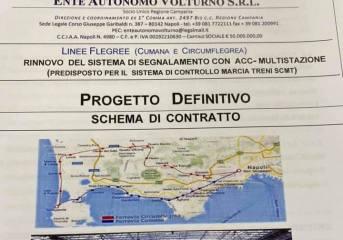 Cumana e Circumflegrea, dopo 60 anni ecco il nuovo sistema di sicurezza delle due linee ferroviarie