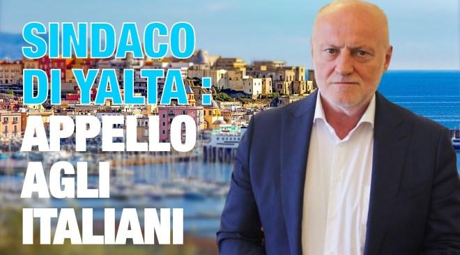 Solidarietà del sindaco di Yalta in Russia alla città di Pozzuoli