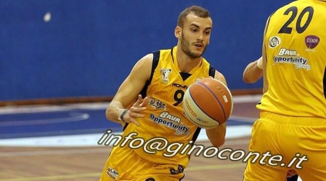 Basket – Virtus Pozzuoli sconfitta a Salerno. Savoldelli assente a causa di uno stiramento