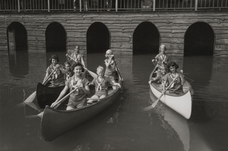 1950s canoe
