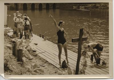 1950s-lakeside