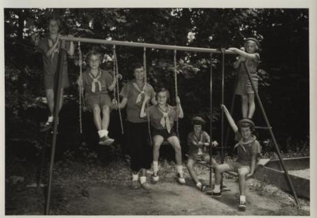 1960s-swingset