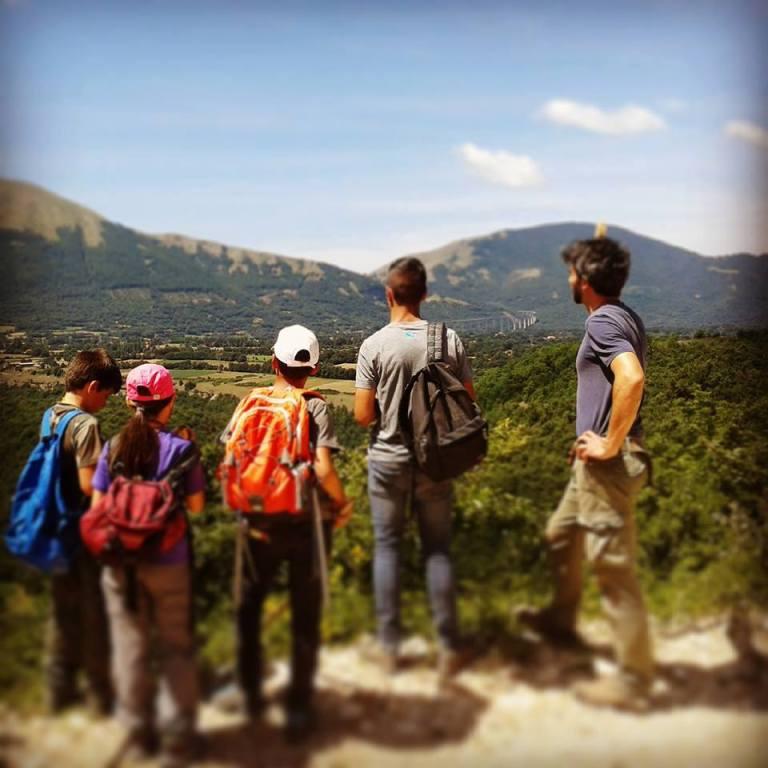 trekking ai Campi Natura - Lazio - RedFox Summer Camp