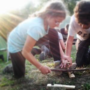 Fuoco ai Campi Natura - Lazio - Campi Estivi - fuoco