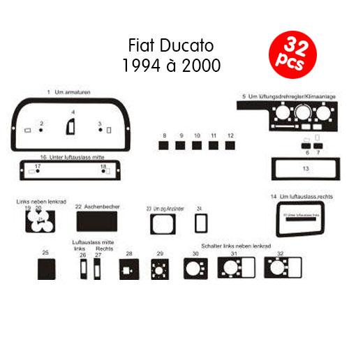 Garniture de tableau de bord Ducato Jumper Boxer de 94 à 2000