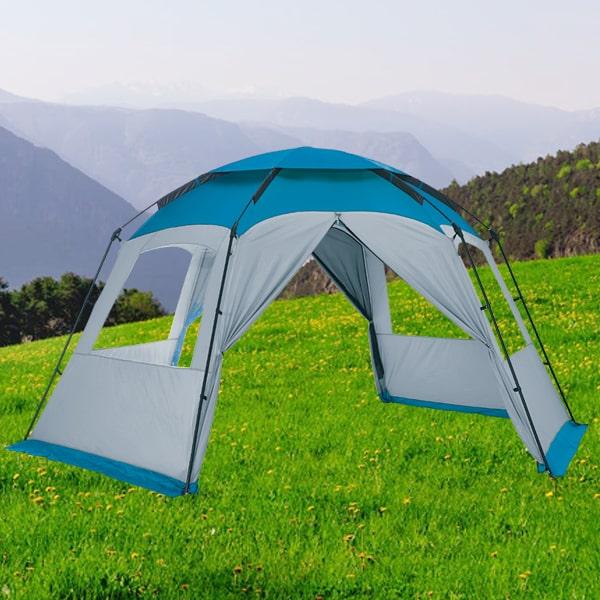 abri hexagonal trigano camping car