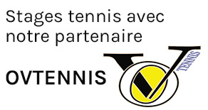 Stages tennis avec notre partenaire OVTENNIS