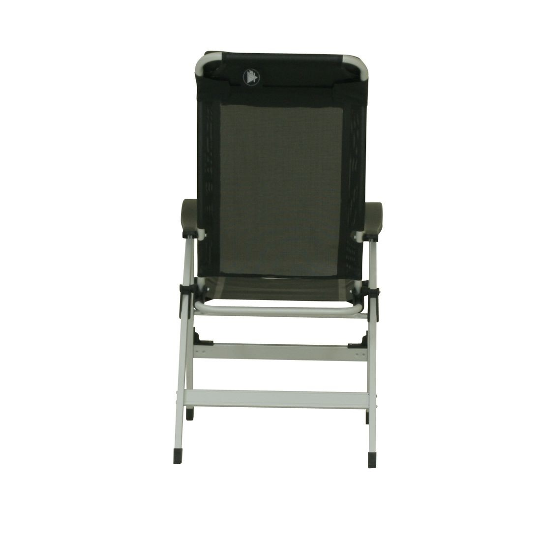 easy chairs with integral footrest folding chair black 10t easychair aluminium camping high back incl