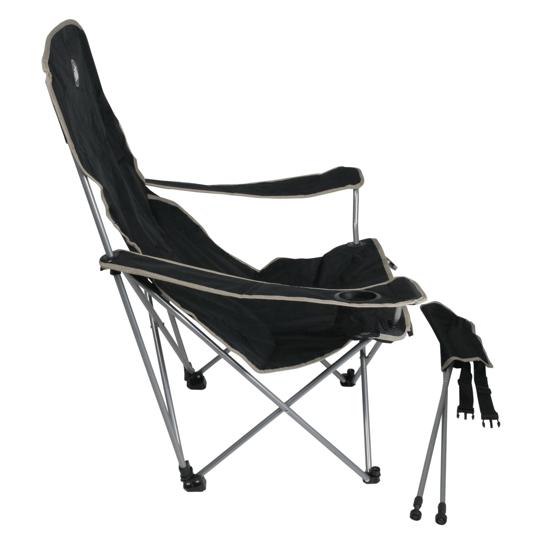 bag chair with footrest ergonomic nhs 10t quickfold plus mobile camping