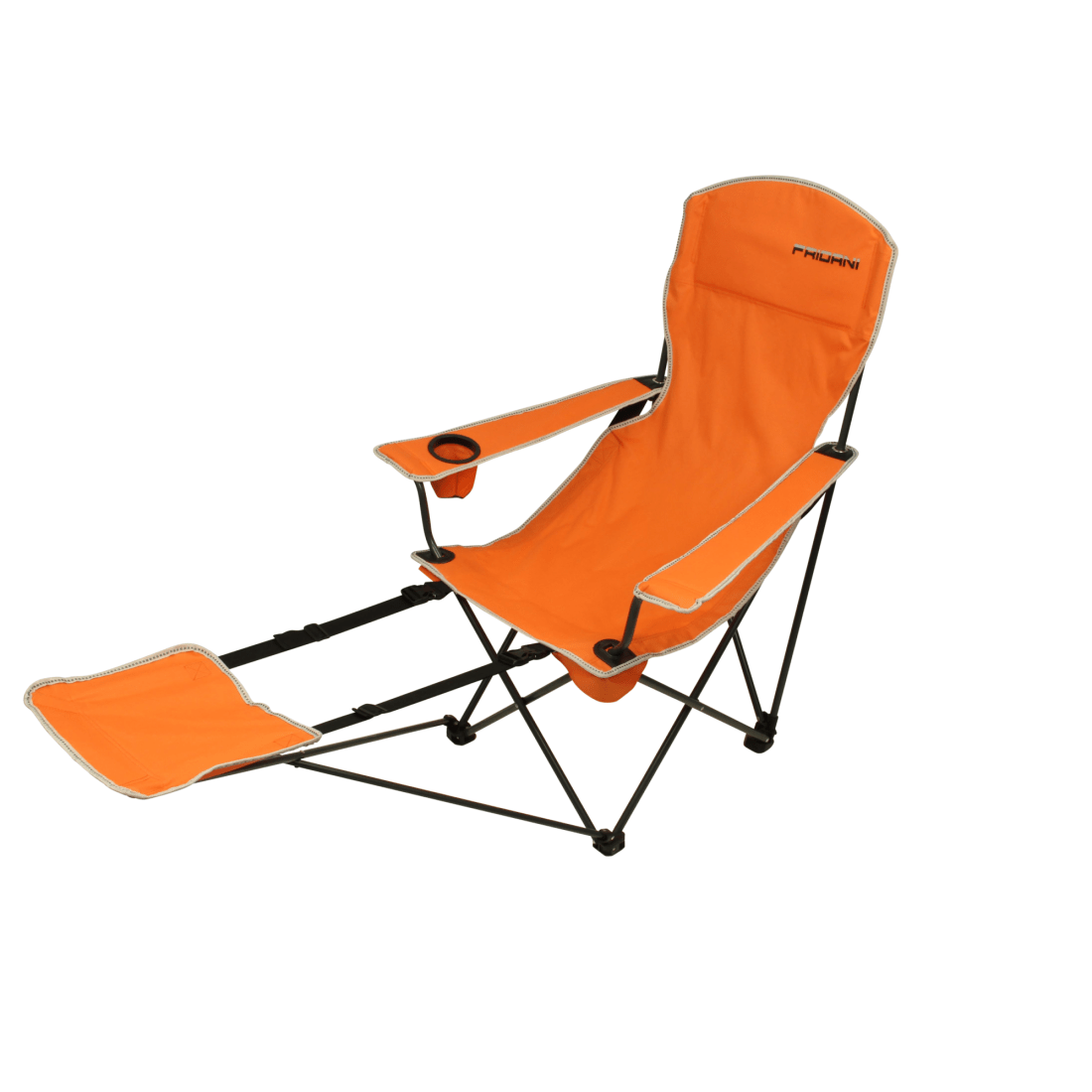 bag chair with footrest red outdoor cushions fridani fro 105 camping foldable