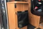Mülleimer-Tasche mit Magnetverschluss für den Kastenwagen