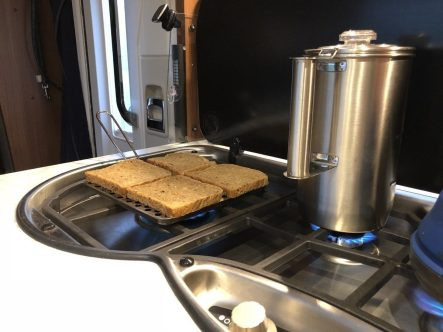 Toaster im Wohnmobil - 1