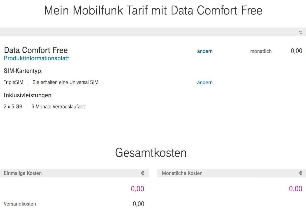 Telekom Karte Aktivieren.10 Gigabyte Kostenloses Datenvolumen Bei Der Deutschen Telekom