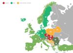 Eine Übersicht von Mautgebühren in Europa