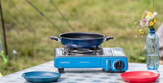 campingaz kitchen appliances set - campinggeschirr