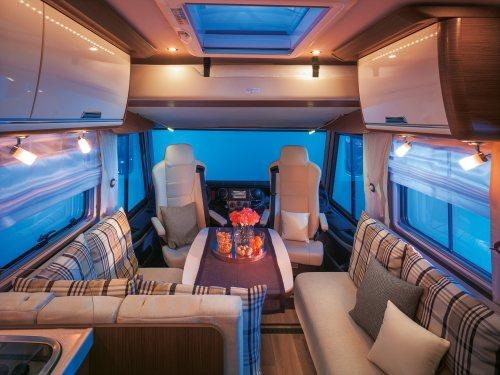 Alle modeller har et åpent og innbydende romløsninger med god plass og komfort.